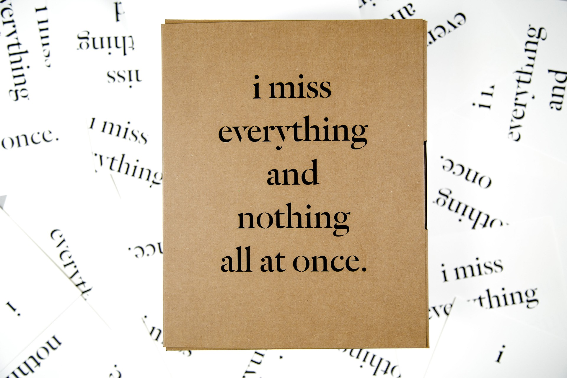 duy đào I MISS EVERYTHING AND NOTHING ALL AT ONCE